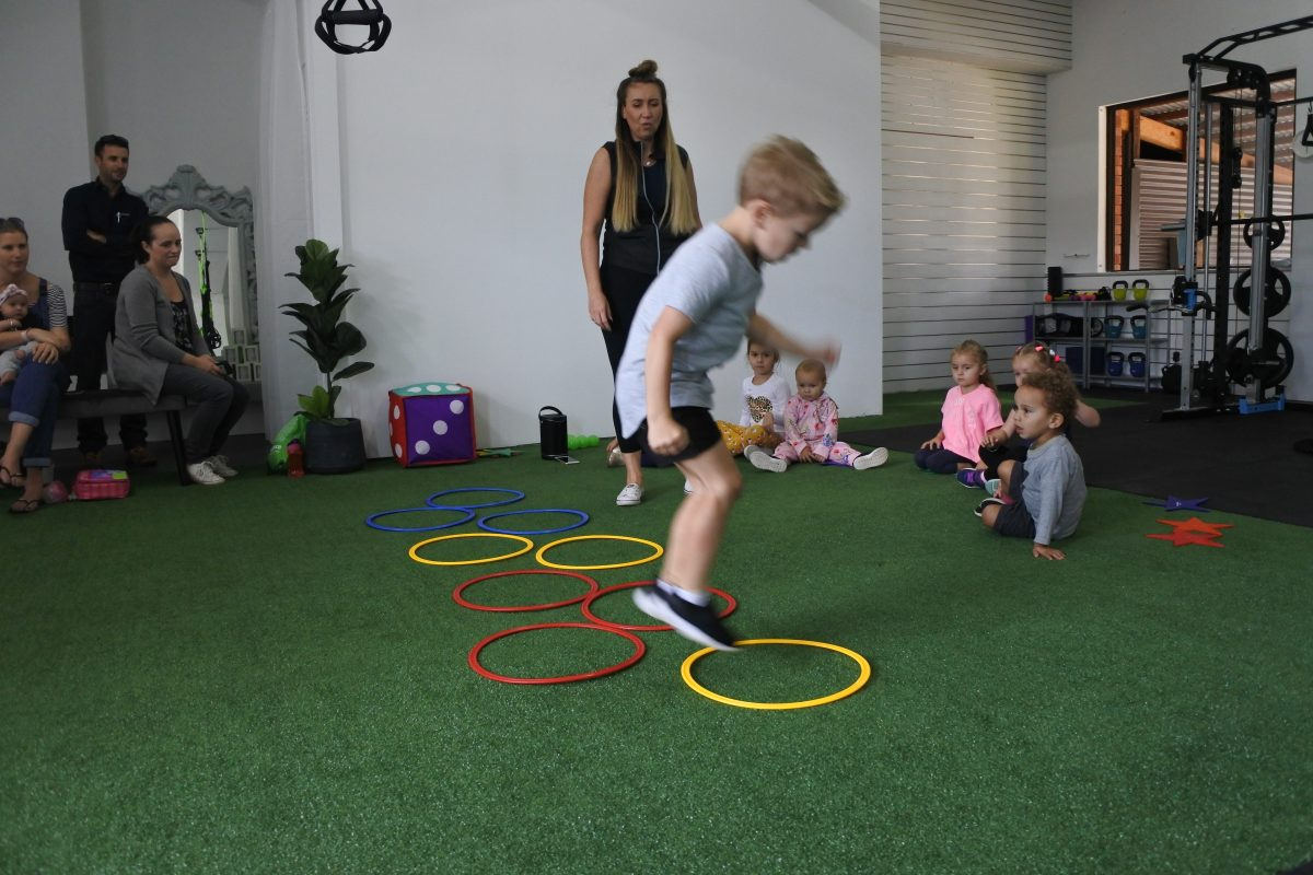 kids fitness exercise