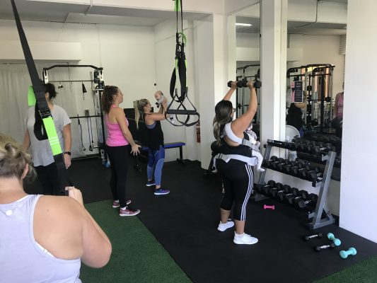 postpartum workout at women gym near me mums and bubs