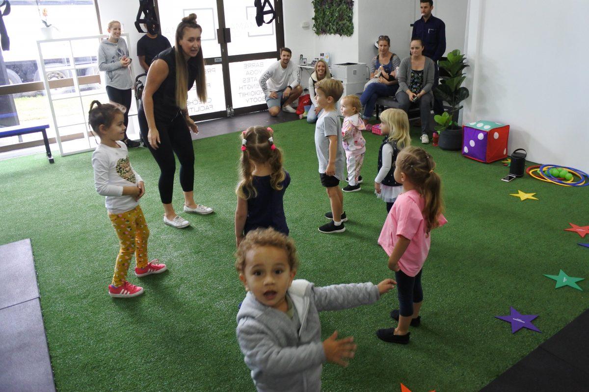 preschool fitness exercise